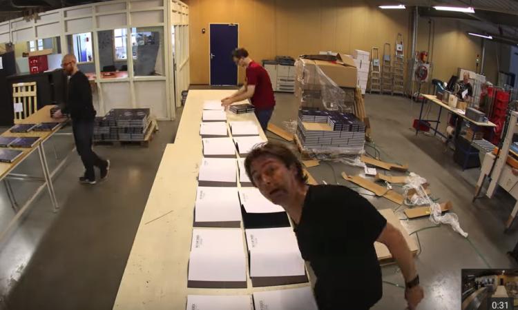 Rutger Geerling signeert 1000 boeken